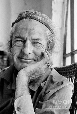 Personalities Photograph - Timothy Leary by Baron Wolman