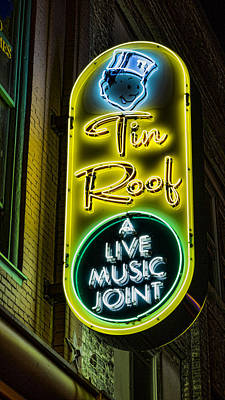 Tin Roof Print by Stephen Stookey