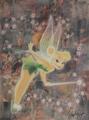 Tinkerbell Print by Stapler-Kozek
