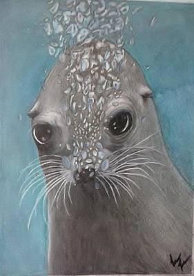 Tiny Bubbles Print by Lori Lee
