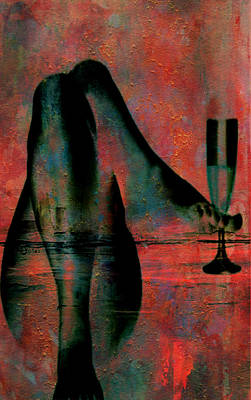 Tipsy Turvey Print by Greg Sharpe