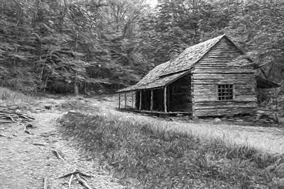 Tired And Weathered  II Print by Jon Glaser