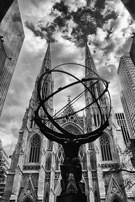 St. Patricks Cathedral Photograph - Titan by Jessica Jenney