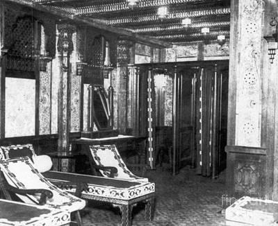 Titanic: Turkish Bath, 1912 Print by Granger
