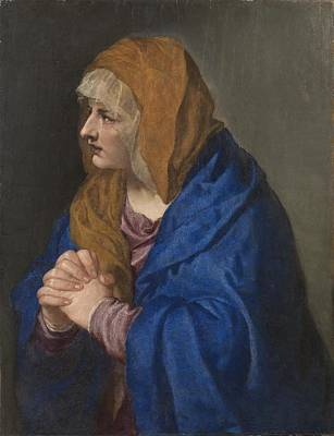 With Hands Painting - Tiziano Vecellio Di Gregorio by MotionAge Designs