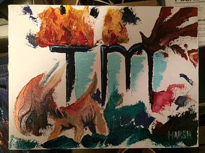 Tm Demongoat Original by Scott Harshbarger