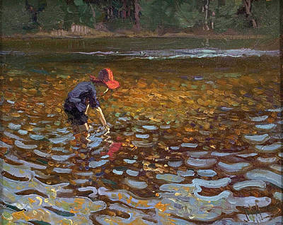 Painting - T.m. In Gull River by James Edward Hervey MacDonald