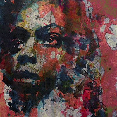 To Be Young Gifted And Black Print by Paul Lovering