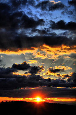 Sunset Photograph - To God Be The Glory by Emily Stauring