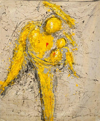 Mother Painting - To See Is To Love And To Love Is To Live by Giorgio Tuscani