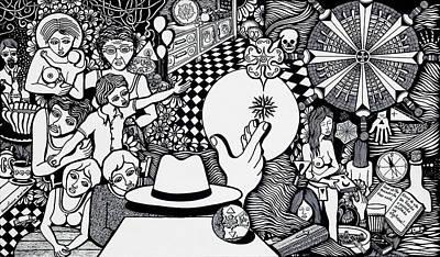 Today I No More Have Birthdays Print by Jose Alberto Gomes Pereira