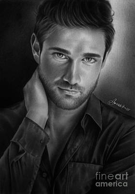 Hunk Drawing - Todd Finlay by Adjie Ananto
