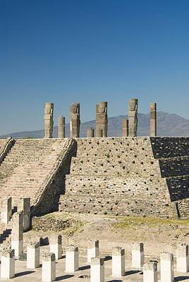 Toltec Ruins - Mexico Print by Gloria & Richard Maschmeyer - Printscapes