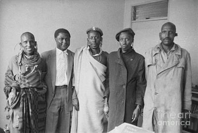Ghana Photograph - Tom Mboya by The Harrington Collection