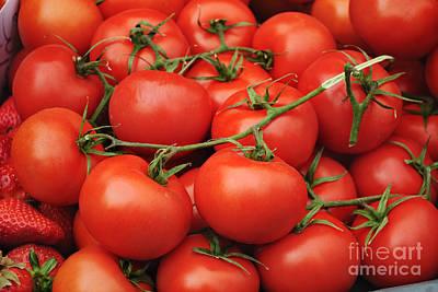 Farm Stand Photograph - Tomatoes by Jelena Jovanovic
