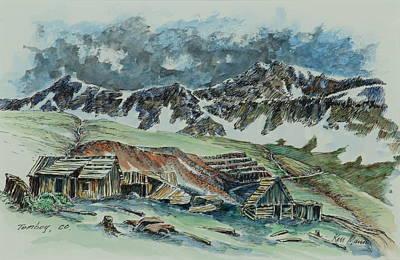 Tomboy - Colorado Mining Print by Kenneth Mann