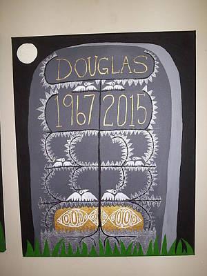 Tombstone 2 Print by William Douglas