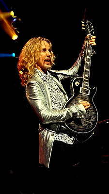 Tommy Shaw Of Styx Print by David Patterson
