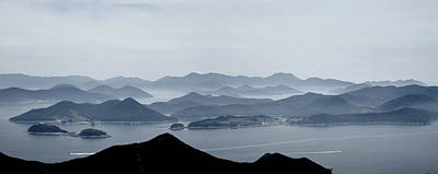 Scenery Photograph - Tongyeong Korea by Raphael Ean