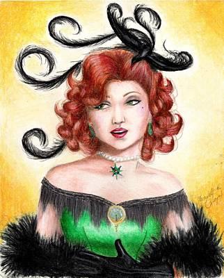 Boa Constrictor Drawing - Tonya by Scarlett Royal