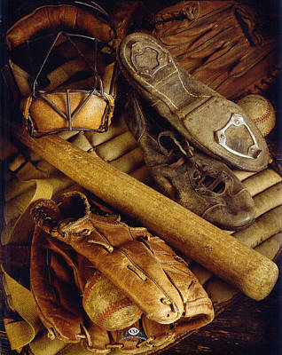 Mickey Mantle Photograph - Tools Of The Trade by David Spindel