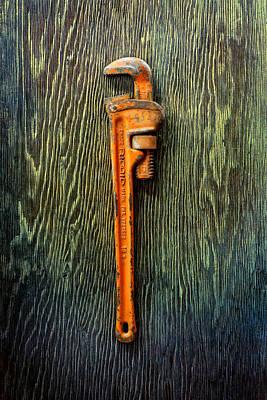 Tools On Wood 60 Print by YoPedro