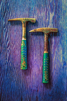 Hand Built Photograph - Tools On Wood 65 by YoPedro