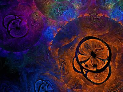 Chroma Digital Art - Tootie Fruitie by Lyle Hatch