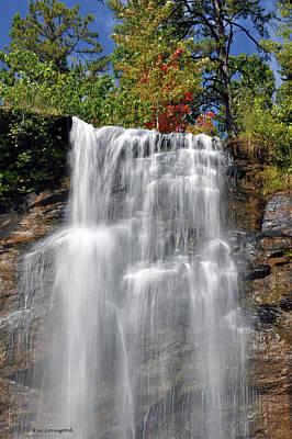 Photograph - Top Of Toccoa Falls by Kay Lovingood