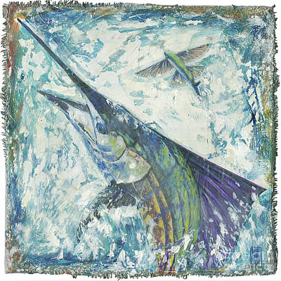 Top Sail II Print by Danielle Perry
