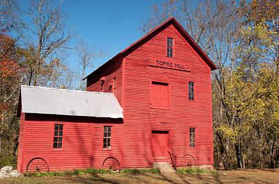 Mill Photograph - Topaz Mill by Steve Stuller