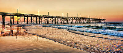 Sea Photograph - Topsail Sunrise by Marcia Colelli