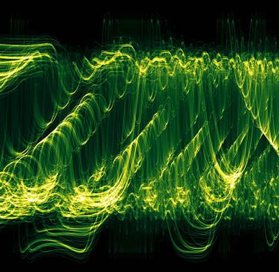 Algorithmic Digital Art - Tornado by MyEcurve MyEcurve