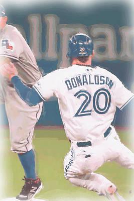 Josh Photograph - Toronto Blue Jays Josh Donaldson 3 by Joe Hamilton