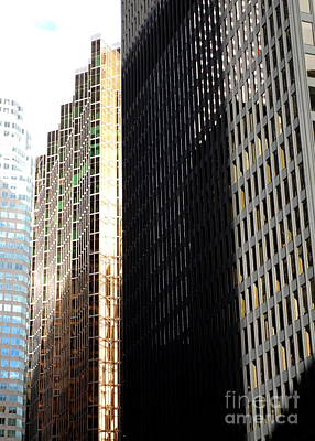 Royal Bank Of Canada Photograph - Toronto Financial District by Randall Weidner