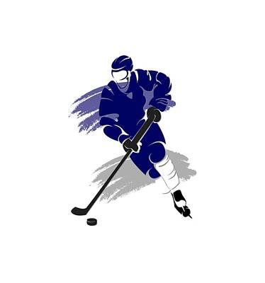 Toronto Maple Leafs Photograph - Toronto Maple Leafs Player Shirt by Joe Hamilton