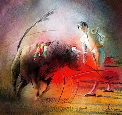 Toroscape 59 Print by Miki De Goodaboom