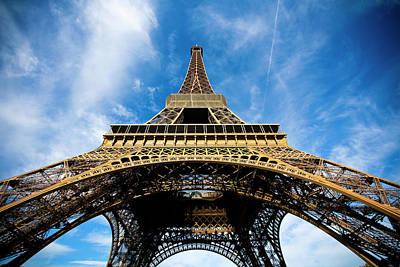Built Structure Photograph - Torre Eiffel - Tour Eiffel - Eiffel Tower by Ruy Barbosa Pinto