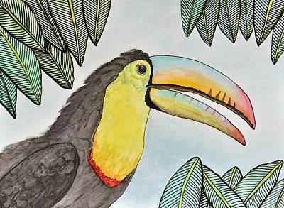 Toucan II Original by Linda Brody