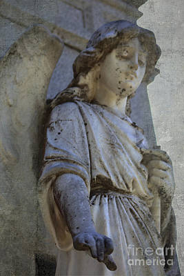 Christian Artwork Digital Art - Touched By An Angel by Ella Kaye Dickey