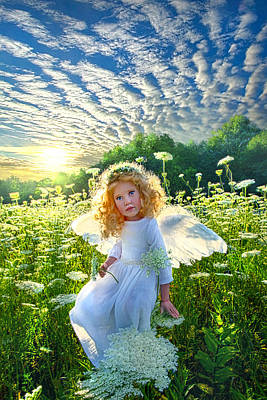 Hope Photograph - Touched By An Angel by Phil Koch