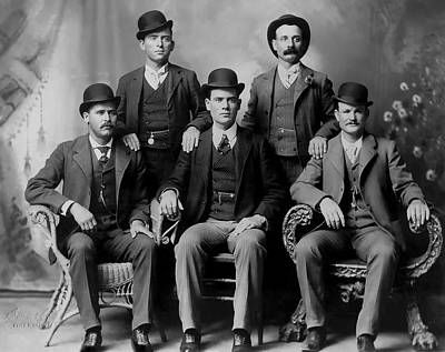 Tough Photograph - Tough Men Of The Old West 2 by Daniel Hagerman
