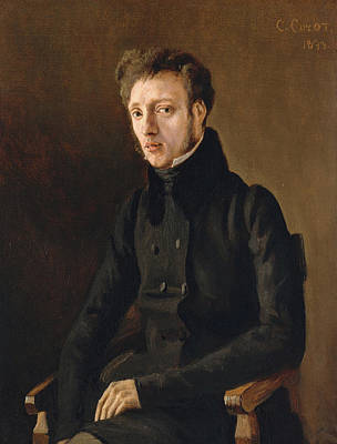 Realistic Painting - Toussaint Lemaistre by Camille Corot