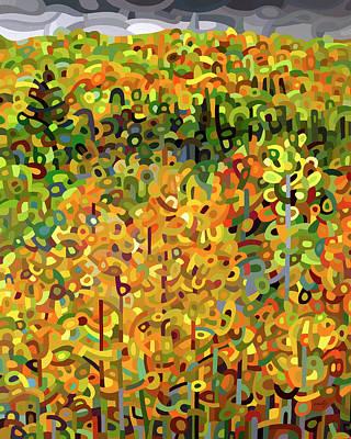 Towards Autumn Original by Mandy Budan