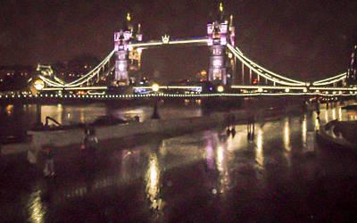 London Photograph - Tower Bridge by Silvia Bruno