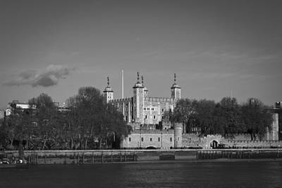 London Photograph - Tower Of London Riverside by Gary Eason