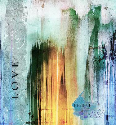 Creativity Mixed Media - Tower Of Love Abstract by Georgiana Romanovna