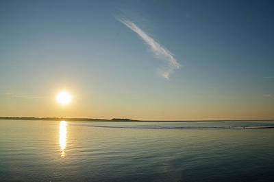 Sunrise Photograph - Townsends Inlet Sunrise by Bill Cannon