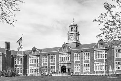 Towson University Stephens Hall Print by University Icons