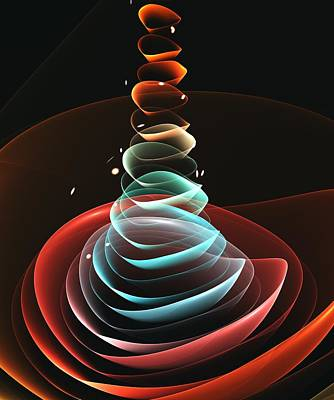 Digital Art - Toy Pyramid by Anastasiya Malakhova